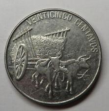 Dominican Republic 25 Centavos 1991 Nickel Clad Steel KM#71.1