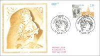 FRANCE - CLUNY -  Cluny - 1990 - FDC
