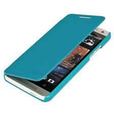 PLUS FLIP COVER CASE PER HTC ONE MINI m4 BLU CHIARO guscio protettivo astuccio per cellulare