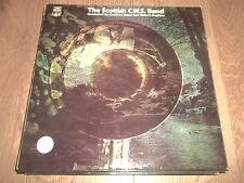 THE SCOTTISH C.W.S. BAND ~ 1969 BRASS BAND VINYL LP GSGL 10430 VG+/EX