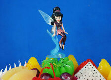 Cake Topper DISNEY FAIRIES TINKERBELL VIDIA DOLL FIGURE Decoration K1076_E
