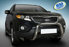 PARE BUFFLE KIA SORENTO 2009-2012  HOMOLOGUE INOX Ø 70mm  U-TYPE