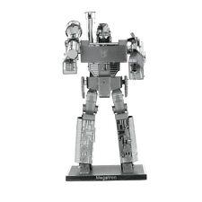 Fascinations Metal Earth 3D Steel Model Kit Transformers Decepticon Megatron