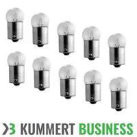 10x R5W Ba15s 12V Lampe Glühbirne Kugellampe Glühlampe Kugel Birne Glüh Audi BMW