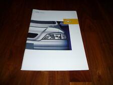 Opel Astra Prospekt 01/2002