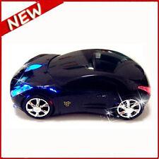 2.4 ghz Inalámbrico 3d 1600dpi coches Ferrari forma óptico USB ratón inalámbrico negro Reino Unido