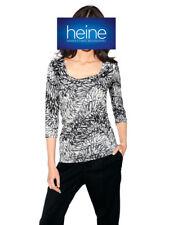 Wasserfall-Druck-Shirt, PATRIZIA DINI by heine. Grau. NEU!!! KP 49,90 �'� %25SALE%25