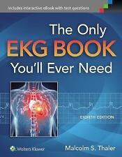 FAST SHIP - THALER 8e The Only EKG Book You'll Ever Need                     GR8