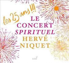 Les 25 Ans !!!: Le Concert Spirituel, Herve Niquet, Concert Spirituel Ensemble,