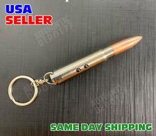 Red Laser Pointer Led Flashlight Torch Light Ball Pen Bullet Style Keychain 100