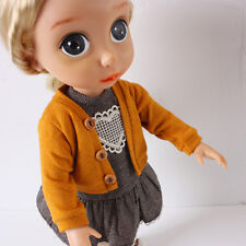 Disney Baby Doll Clothes / Yellow Cardigan / Animator's Princess 16 inch