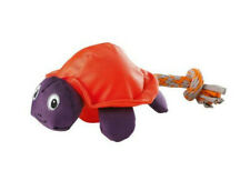 Hunter Dog Swimming Toy Turtle Canvas With Rope Tail