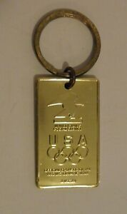Vintage USPS 1992 Olympics Metal Key Chain (Made in USA)