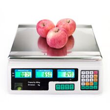 40kg/5g Digital Commercial Food Scale for Vegetable Fruits Price Computing Scale