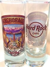 "Hard Rock Cafe ANCHORAGE 2014 4"" SHOT GLASS City Tee T-Shirt V14 New! Cordial"