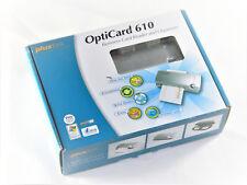 Plustek OptiCard 610 Taschenscanner für Visitenkarten, Miniscanner