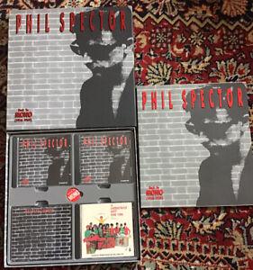 Phil Spector Back To Mono (1958-1969) Includes Christmas Album 4 CD SET +BADGE