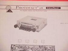 1975 BOMAN ASTROSONIX AM-FM-MPX RADIO SERVICE MANUAL 605-MPX CHEVROLET FORD