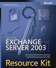 Microsoft Exchange Server 2003 Kit by Pav Cherny, Scott Schnoll, Fergus...