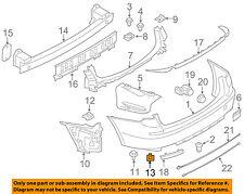 BMW OEM 2010 550i GT Front Bumper-Foam Impact Absorber Bar Rebar 51117200745
