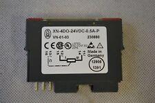 Moeller/Eaton/Micro Innovation Digital Ausgabemodul (XN-4DO-24VDC-0.5A-P)(5.056)