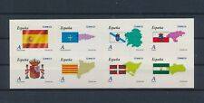 LM96963 Spain country flags good sheet MNH