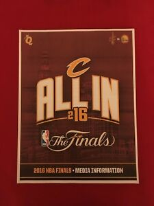 2016 Cleveland Cavaliers NBA Finals media guide / NBA champions / Irving / James