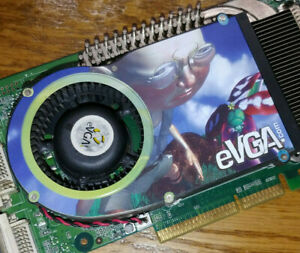 Working eVGA GeForce 6800 Ultra AGP 256MB GDDR3 Nvidia Graphics Card