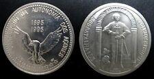 LOT OF 2 PORTUGAL COINS 1985 100 ESCUDOS AZORES INDEPENDENCE & D. PEREIRA   319
