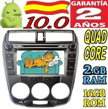 ANDROID 10.0 HONDA CITY AUTO RADIO COCHE DVD GPS WIFI CAR CANBU 4G CAR DAB+
