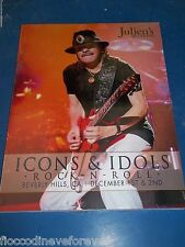 Santana Catalog Julien'S Auction Icons & Idols Dec 2012 W/Jackson Items No Promo