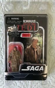 Star Wars 2006 Saga Collection ROTJ Han Solo (in trench coat), NEW! CLAMSHELL!