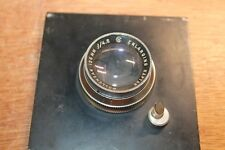 Wollensak 135mm  F/4.5  Raptar Enlarging Lens W/ mounting plate