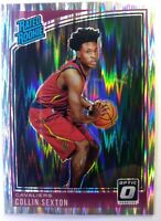 2018-19 OPTIC Shock Prizm Collin Sexton Rookie RC #180, RATED ROOKIE Refractor