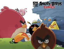 Angry Birds #1 IDW comic Wraparound cover 1st Print 2014 NM ships in t-folder