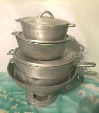100% Jamaican old-time antique style Dutch Pots Set and coal stove coal pot