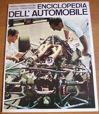 Sergio Pininfarina ENCICLOPEDIA DELL'AUTOMOBILE 1967 n° 23 LOLA FORD - 8/17