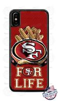 San Francisco 49ers For Life Phone Case Cover for iPhone Xs Max Samsung LG etc