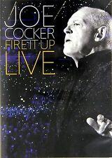 JOE COCKER: FIRE IT UP, Live in Köln 2013 (DVD) NEU+OVP