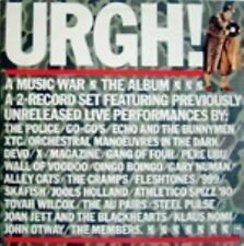 Urgh! A Music War Double Live LP RARE
