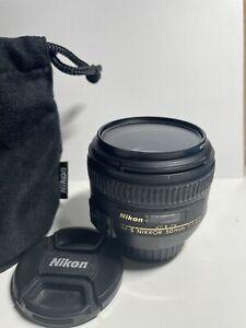 Nikon NIKKOR AF-S 50mm f/1.4 G Lens
