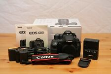 Canon EOS 60D Camera Body - Great condition with original packaging and extras!