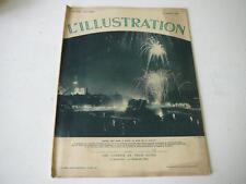 L'Illustration n° 4768 21.07.1934 Féerie nocturne à Paris le soir du 14 juillet
