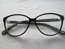 Clemence Margaux black & white glasses frames. CM 92 La Princesse.