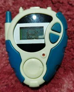 Vintage Blue Veemon Digimon D-3 Pedometer Digivice Bandai 2000 Akiyoshi Hongo