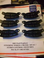 2002 Ford Explorer STEERING WHEEL CRUISE & AUDIO HVAC SWITCH s 3L2T-14K147-BA