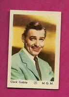 RARE 1950S CLARK GABLE M.G.M  GUM  EX-MT  CARD (INV# A2017)