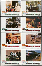 THUNDERBOLT AND LIGHTFOOT orig 1974 lobby card set CLINT EASTWOOD/JEFF BRIDGES