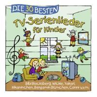 Die 30 Besten TV-Serienlieder für Kinder  CD NEU & EINGESCHWEIßT
