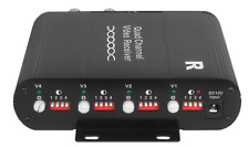 4Ch Active Receiver Hub Video: Frequency Response Range: Dc-6Mhz 15Khz-6Mhz